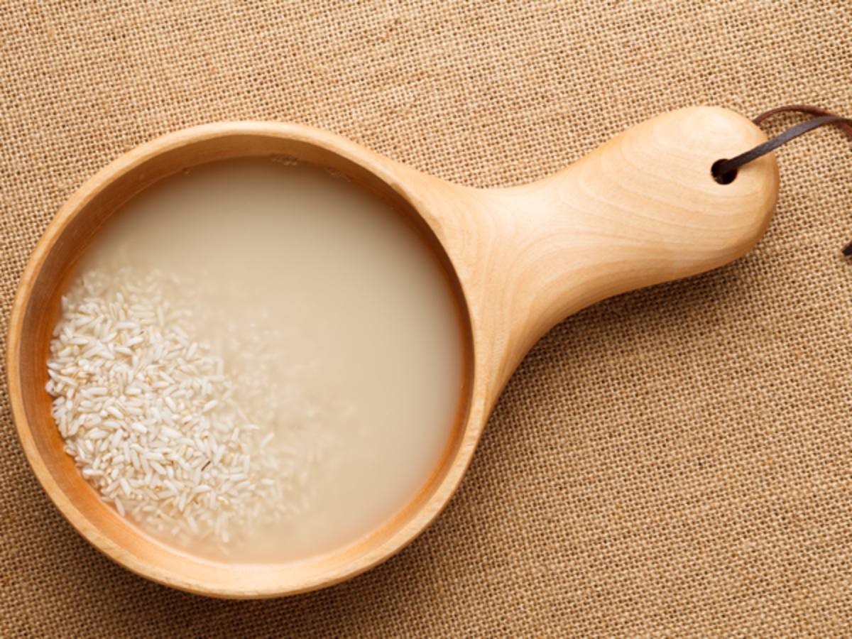 Rice Water For Hair : How To Use This Miracle Beauty Fluid!